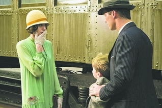 """Angelina Jolie discovers she's being given the wrong boy in """"Changeling."""""""