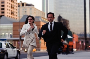 "Anne Hathaway and Steve Carell in ""Get Smart."""