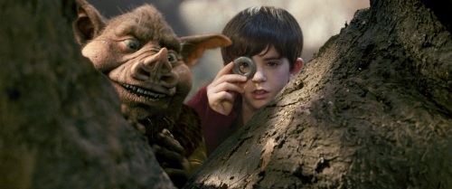 "Freddie Highmore in ""The Spiderwick Chronicles."""