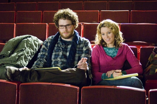 "Seth Rogen and Elizabeth Banks in ""Zack & Miri Make a Porno."""