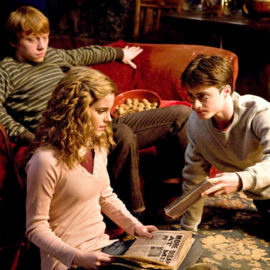 "The cast of ""Harry Potter and the Half-Blood Prince."""