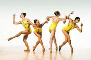 Katie Dehler, Samantha Klanac, Emily Proctor and Lauren Alzamora perform with Aspen Santa Fe Ballet.