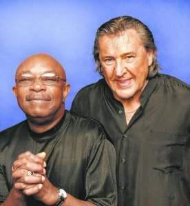 Eddie Willis, left, and Bob Babbitt, original Motown Funk Brothers, will perform Aug. 1 for Artown.