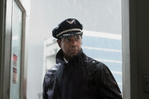 "Denzel Washington plays airline pilot Whip Whitaker in the Robert Zemeckis-directed drama ""Flight."""