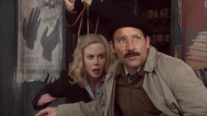 "Nicole Kidman, left, plays Martha Gellhorn and Clive Owen plays Ernest Hemingway in the HBO movie based on their relationship, ""Hemingway & Gellhorn."""
