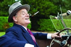 "Bill Murray plays US President Franklin Delano Roosevelt in ""Hyde Park on Hudson."""