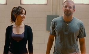 "Jennifer Lawrence, left, and Bradley Cooper star in the Oscar-nominated film ""Silver Linings Playbook."""