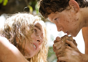 "Tom Holland, left, and Naomi Watts star in the disaster drama ""The Impossible."""