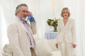 "Robert De Niro and Diane Keaton star in ""The Big Wedding."""