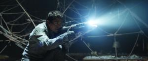 "Tom Cruise stars as Jack Harper in the science-fiction adventure ""Oblivion."""