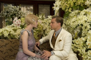 "Carey Mulligan, left, and Leonardo DiCaprio star in ""The Great Gatsby."""