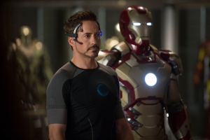 "Robert Downey Jr. reprises the role of Tony Stark in the superhero drama ""Iron Man 3."""