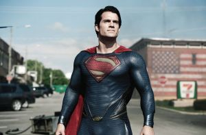 "Henry Cavill plays the title character in ""Man of Steel,"" director Zack Snyder's new cinematic look at the comic book hero Superman."