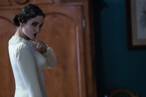 "Danielle Bisutti gets creepy in the horror movie ""Insidious: Chapter 2."""