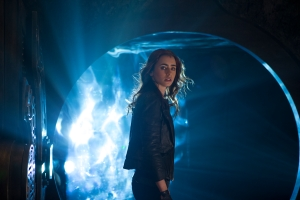 "Lily Collins stars in the supernatural romance ""The Mortal Instruments: City of Bones."""