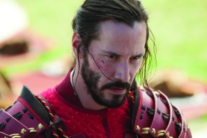 "Keanu Reeves stars in the martial arts adventure film ""47 Ronin."""