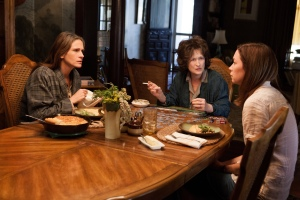 """From left to right, Julia Roberts, Meryl Streep and Julianne Nicholson star in """"August: Osage County."""""""