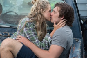 "Gabriella Wilde, left, and Alex Pettyfer star in ""Endless Love,"" a remake of director Franco Zeffirelli's 1981 romance."