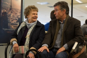 "Judi Dench, left, and Steve Coogan star in ""Philomena."""