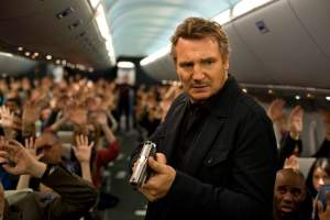 "In ""Non-Stop,"" Liam Neeson plays an air marshal faced with a terrifying threat to the safety of his aircraft and passengers."