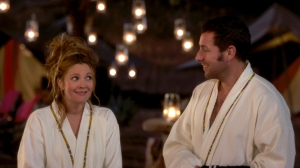 "Drew Barrymore, left, and Adam Sandler re-team with ""The Wedding Singer"" director Frank Coraci for the romantic comedy ""Blended.""  Photo courtesy of Warner Brothers"