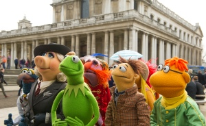 "The Muppets embark on a world tour in ""Muppets: Most Wanted.""  Photo courtesy of Disney"