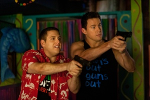 "Jonah Hill, left, and Channing Tatum play undercover police officers in ""22 Jump Street.""  Photo courtesy of Sony"