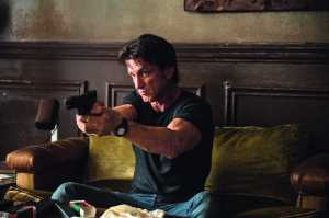 Sean Penn plays an assassin who is hunted for the secrets that he harbors in
